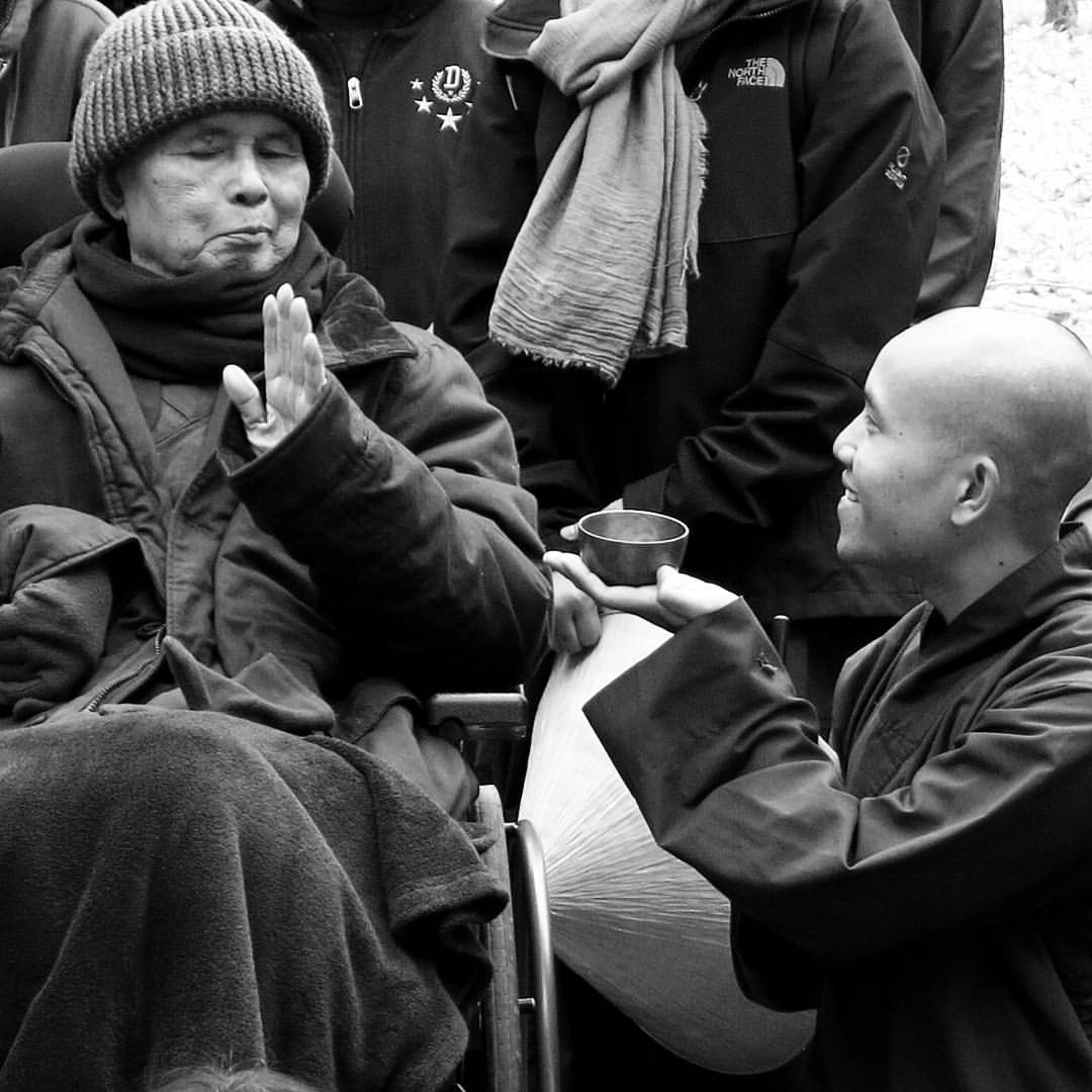 Thich Nhat Hanh photo recent 2018